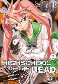 High School of the Dead T.3