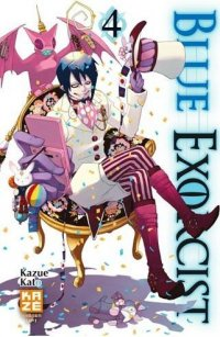 Blue exorcist T.4