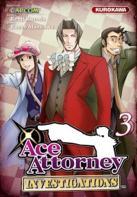 Ace Attorney - Investigations T.3
