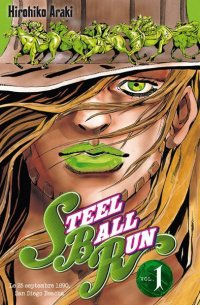 Jojo's bizarre adventure - Steel Ball Run T.1