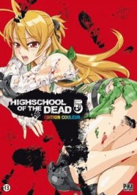 High School of the Dead - �dition Couleur T.5