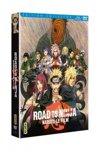 Naruto shippuden Film 6 - Road to ninja - blu-ray collector