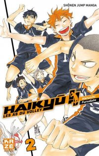 Haiky�!! - Les As du Volley T.2