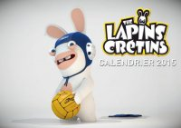 The lapins cr�tins - calendrier 2016
