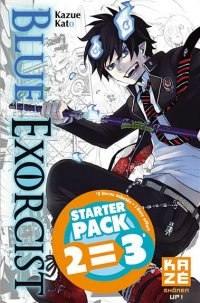 Blue exorcist - pack starter T.1 à T.3