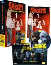Secret T.1 - collector + DVD Film Judge