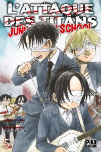 L'attaque des titans - junior high school T.5