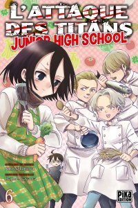 L'attaque des titans - junior high school T.6