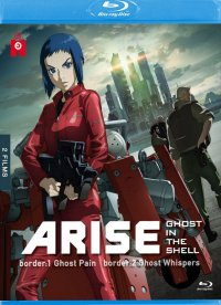 Ghost in the Shell - arise - film 1 et 2 - blu-ray