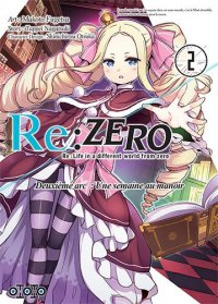 Re:zero - Re:life in a different world from zero - 2ème arc T.2