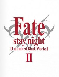 Fate Stay Night - unlimited blade works - coffret collector Vol.2 - blu-ray