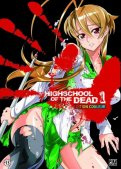 High School of the Dead - édition Couleur T.1
