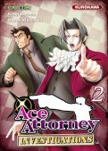 Ace Attorney - Investigations T.2