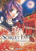 Scarlet fan - A horror love romance T.2
