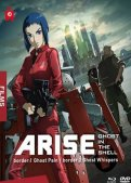 Ghost in the shell :  arise - films 1 et 2 - combo