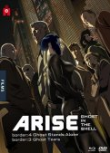 Ghost in the shell :  arise - films 3 et 4 - combo