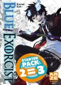 Blue exorcist - pack starter T.1 � T.3