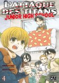 L'attaque des titans - junior high school T.4