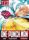 One-punch man - coffret T.1 à T.3